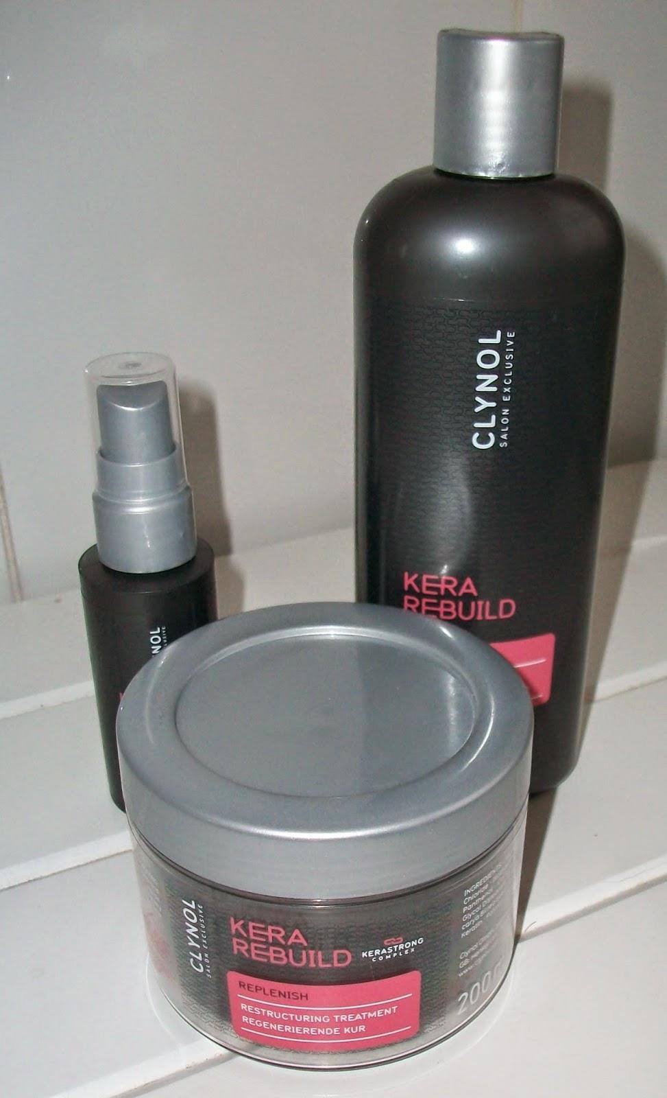 Clynol Kera Rebuild Hair Range Review