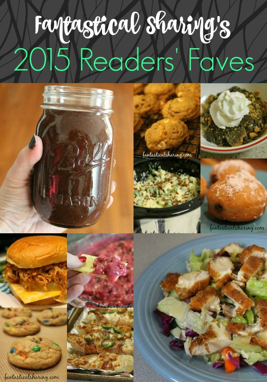 Fantastical Sharing's 2015 Readers' Faves | Stop by to see what recipes were viewed the most in 2015 #Countdownto2015 #newyear