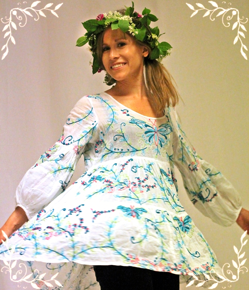 Tunikan Miss Alberta från Agencies turquoise