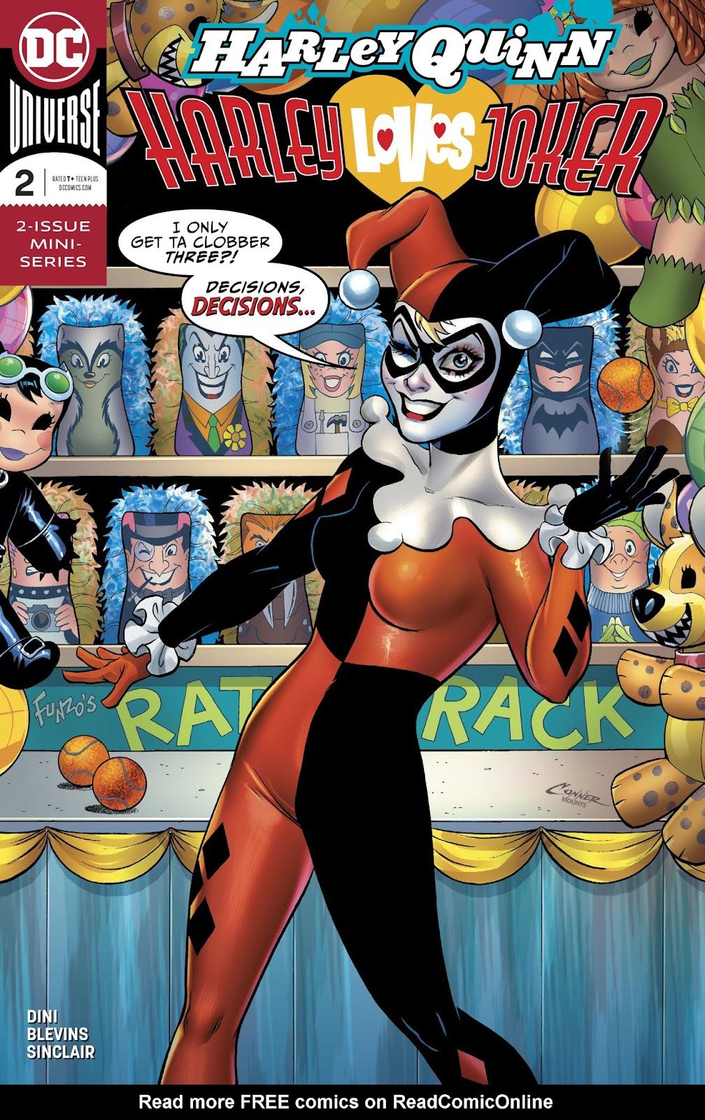 Harley Quinn: Harley Loves Joker  2 Page 1