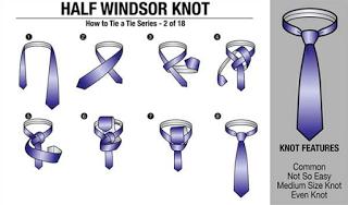 cara memakai dasi sekolah dan kantoran yang baik dan menarik
