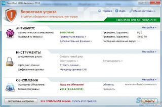 TrustPort USB Antivirus 2012 12.0.0.4860 Full Serial Key