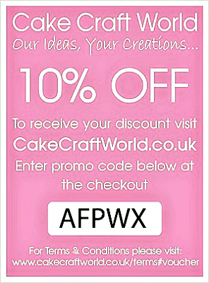 Cake Craft World Discount Voucher