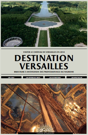 couverture du guide Destination Versailles