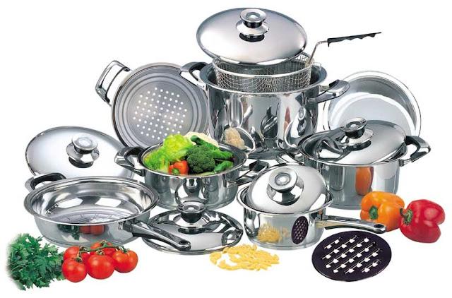 Peralatan masak Stainless Steel