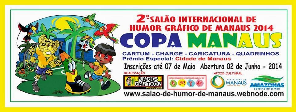 2º SALÃO INTERNACIONAL DE HUMOR GRÁFICO DE MANAUS 2014