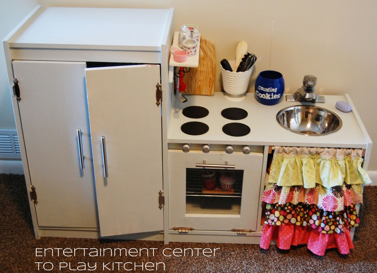 Entertainment Center To Play Kitchen