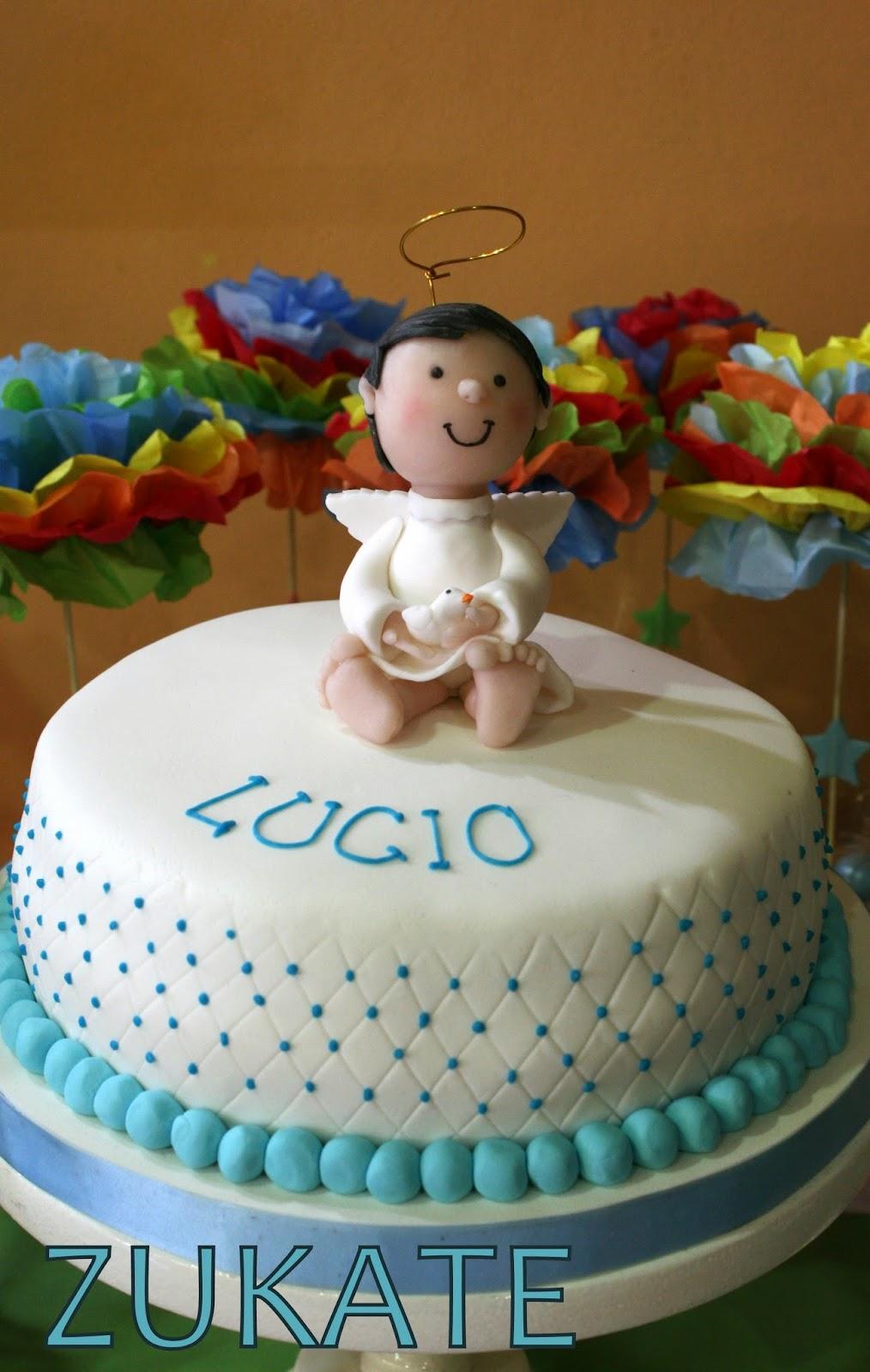 Zukate tortas de bautismo comuni n y confirmaci n for Tortas decoradas sencillas