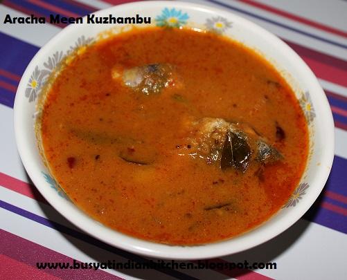 aracha meen kuzahmbu