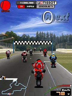 Motogp 09 240x320 Java Touchscreen Mobile Game   java touchscreen games