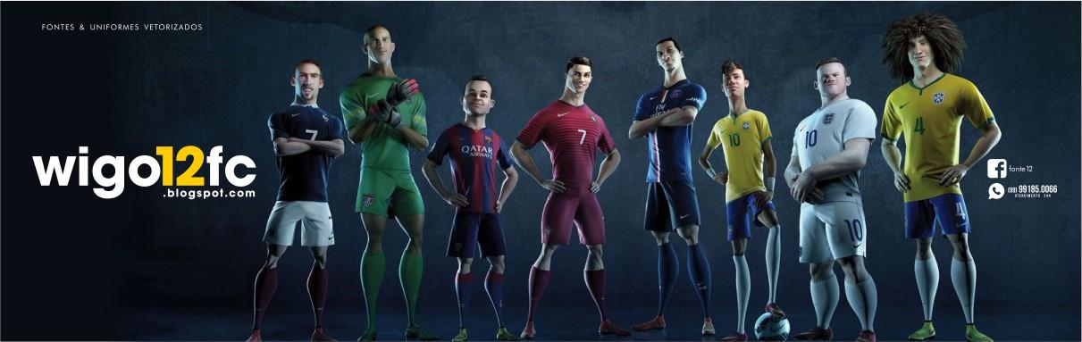 Fontes Camisas Futebol