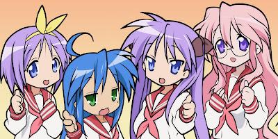 Lucky Star, Anime