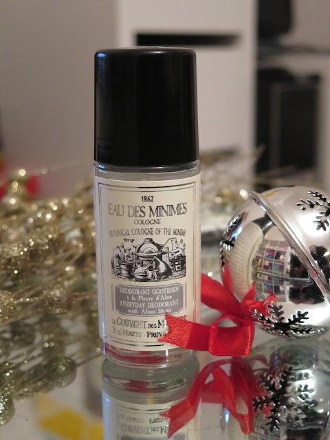"Rutulinis dezodorantas su natūraliais alūno kristalais ""Eau des minimes"""