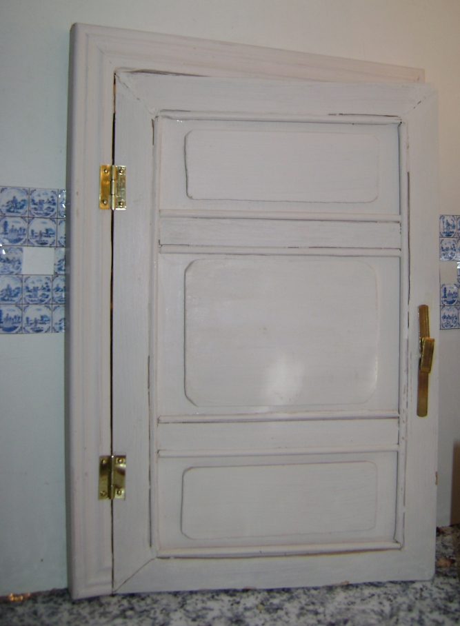 The Door Frame Is Made From Two Photo Frames, And They Dictated The Size Of  The Door. It Didnu0027t Work At All The Way I Had Expected It, But After May  Trials ...