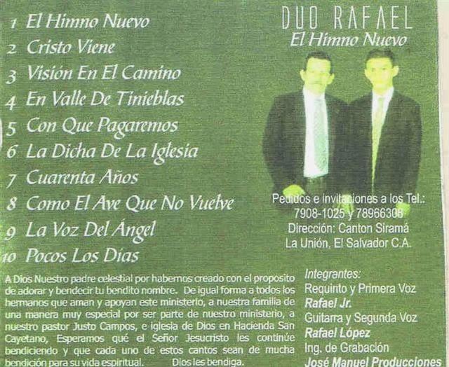 Dúo Rafael-El Himno Nuevo-