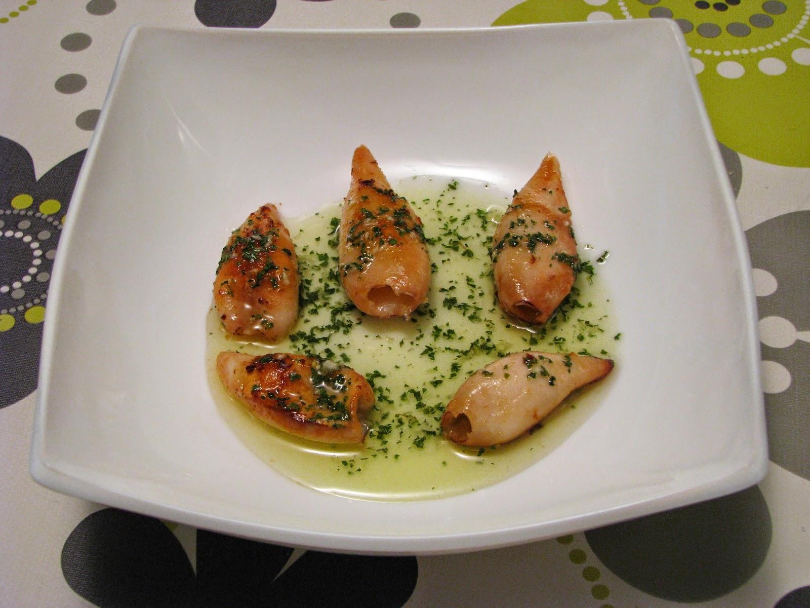 Recetas para cocinillas chipirones a la plancha con salsa verde - Chipiron a la plancha ...