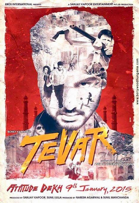 Tevar (2014) First Look Posters