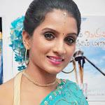 Ammu Tv Anchor in Saree Cute Stills