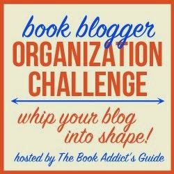 2015 Book Blog Organization Challenge