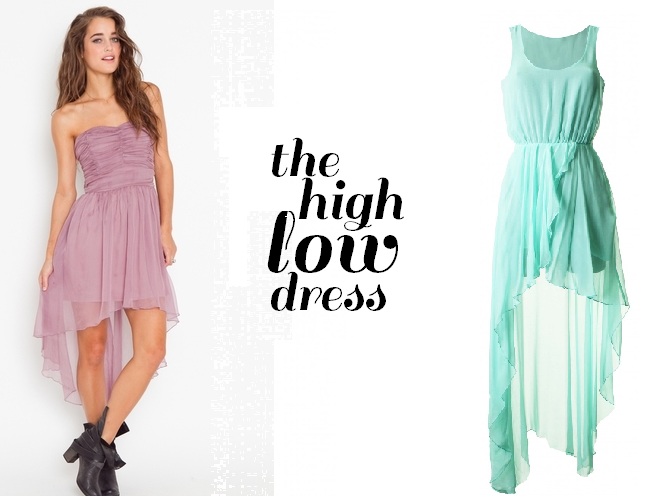 summer high low dresses