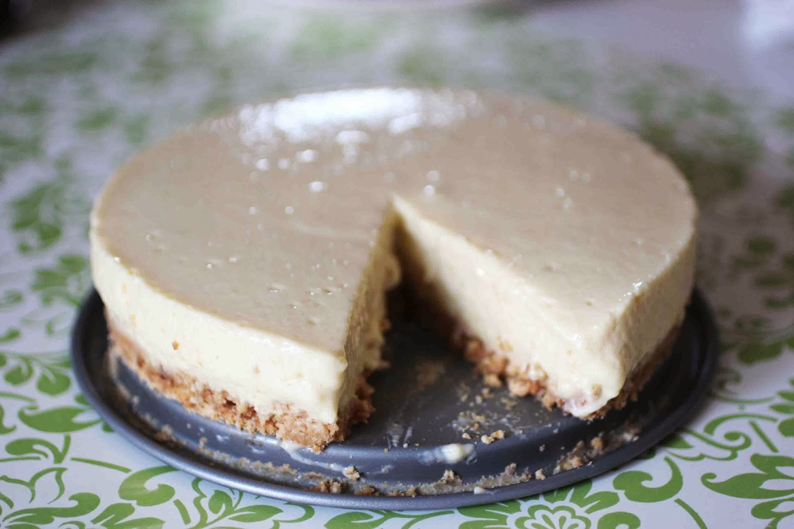 Cheesecake à la mangue (sans cuisson)