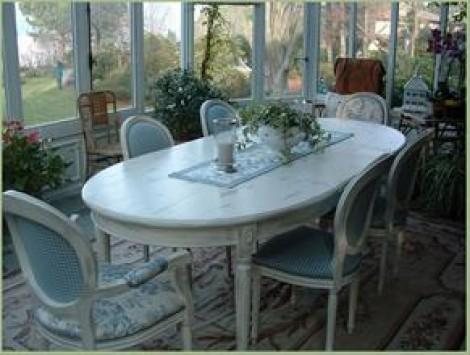 L 39 appartamento al piano di sotto shabby chic country for Bianco e dintorni arredamento provenzale