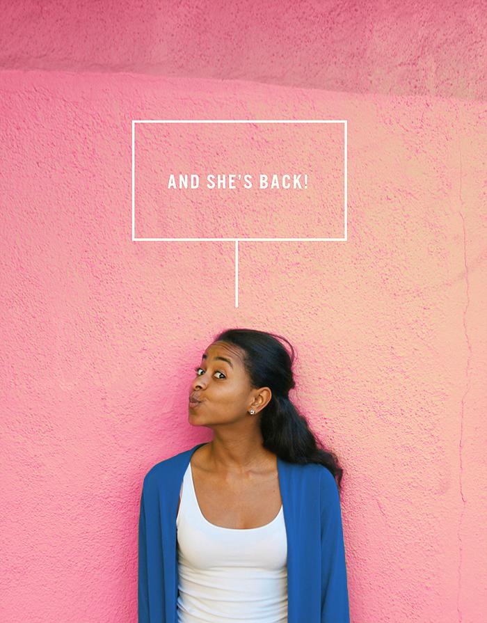 Marjorie is back!