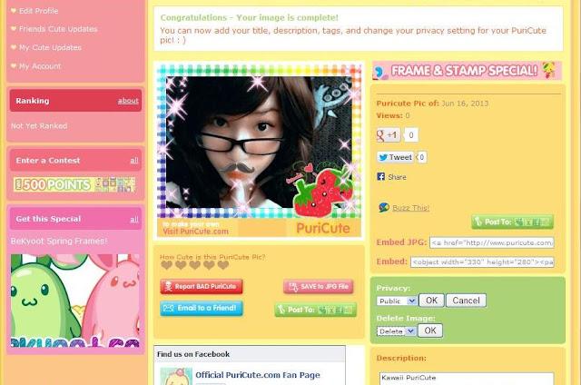 Purikura online