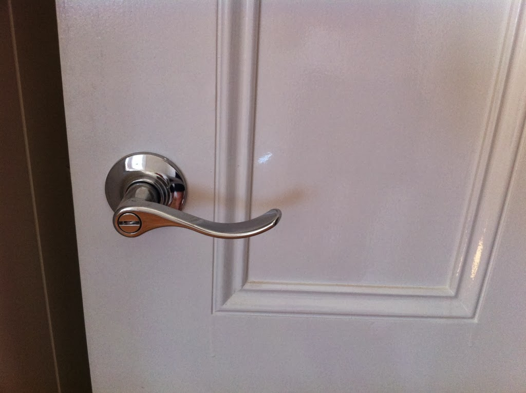 Bedroom door knob