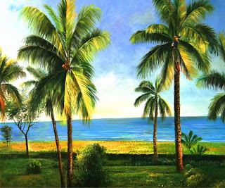 paisajes-con-palmas-pintadas-al-oleo