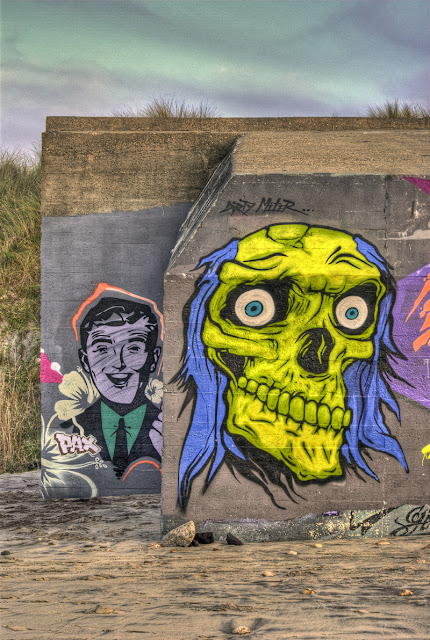 hdr plage, blockhaus soulac, graffitis bordeaux, blocos plage grayan, photo plage hdr, photo plage du gurp, blockhaus tag, graffitis hdr, photo hdr fabien monteil