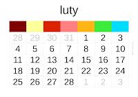 kalendarz 2013 - luty