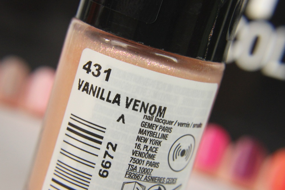 le, cosmetics, review, nagellack, limited edition, swatches, nailpolish, maybelline, hot pepper, sweet & spicy, sweet and spicy, tragefotos, Vanilla Venom, Tangerine Tango, Crushed Cayenne