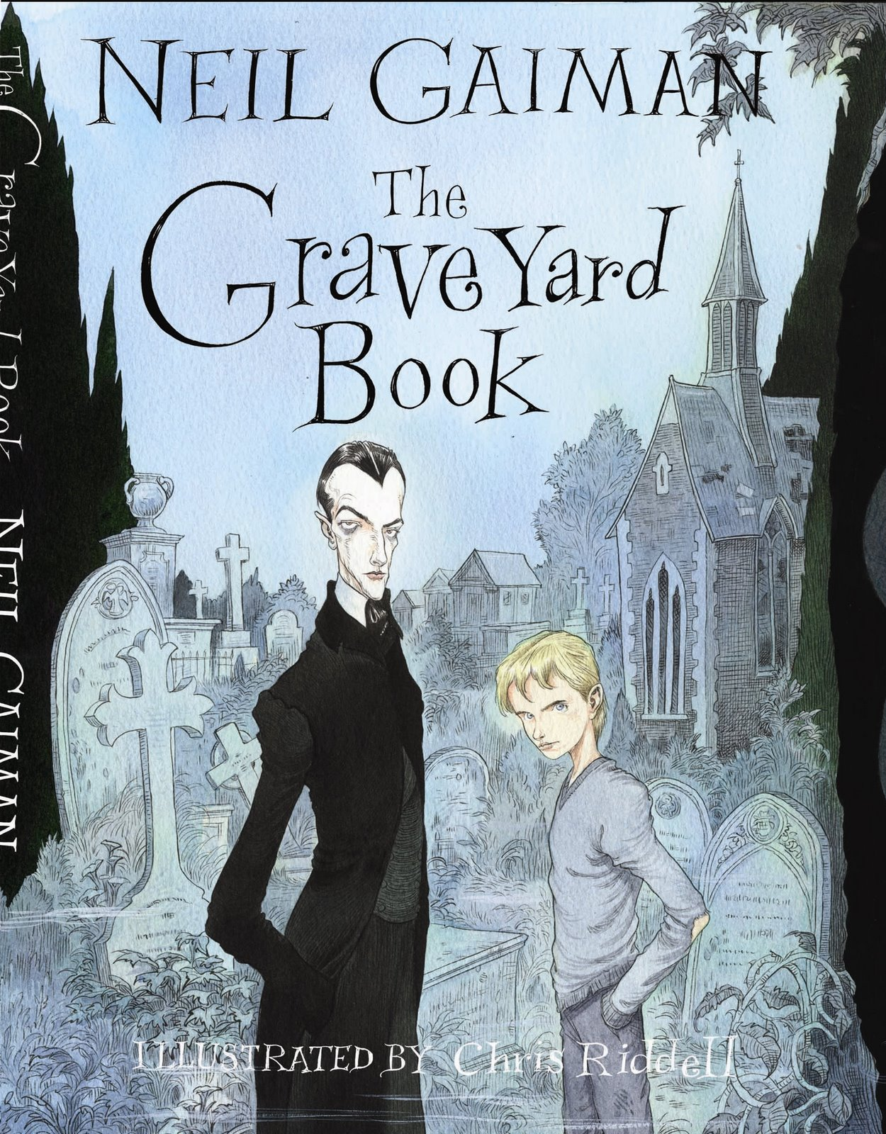 The Graveyard Book Cover Art ~ Half blood prince amazing artwork by chris riddell the