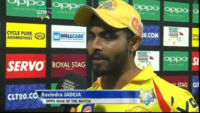 Ravindra-Jadeja-PERTH-SCORCHERS-V-CHENNAI-SUPER-KINGS-CLT20-2014