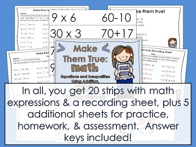 https://www.teacherspayteachers.com/Product/Math-Equations-Inequalities-Using-Addition-Subtraction-Multiplication-1328578