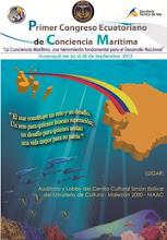 Primer Congreso Ecuatoriano  de CONCIENCIA MARÍTIMA