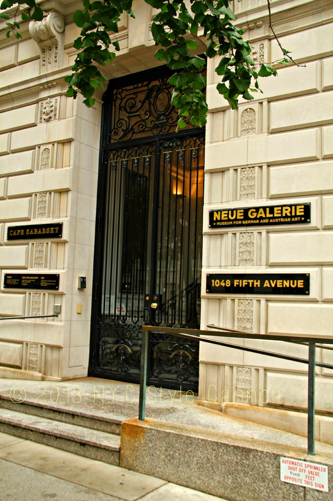 A Visit to Cafe Sabarsky and The Neue Galerie | NYC, Style & a ...