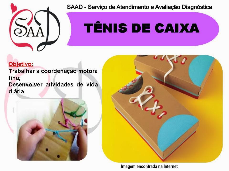 Top SAAD (Serviço de Atendimento e Avaliação Diagnóstica): Atividades  NM87