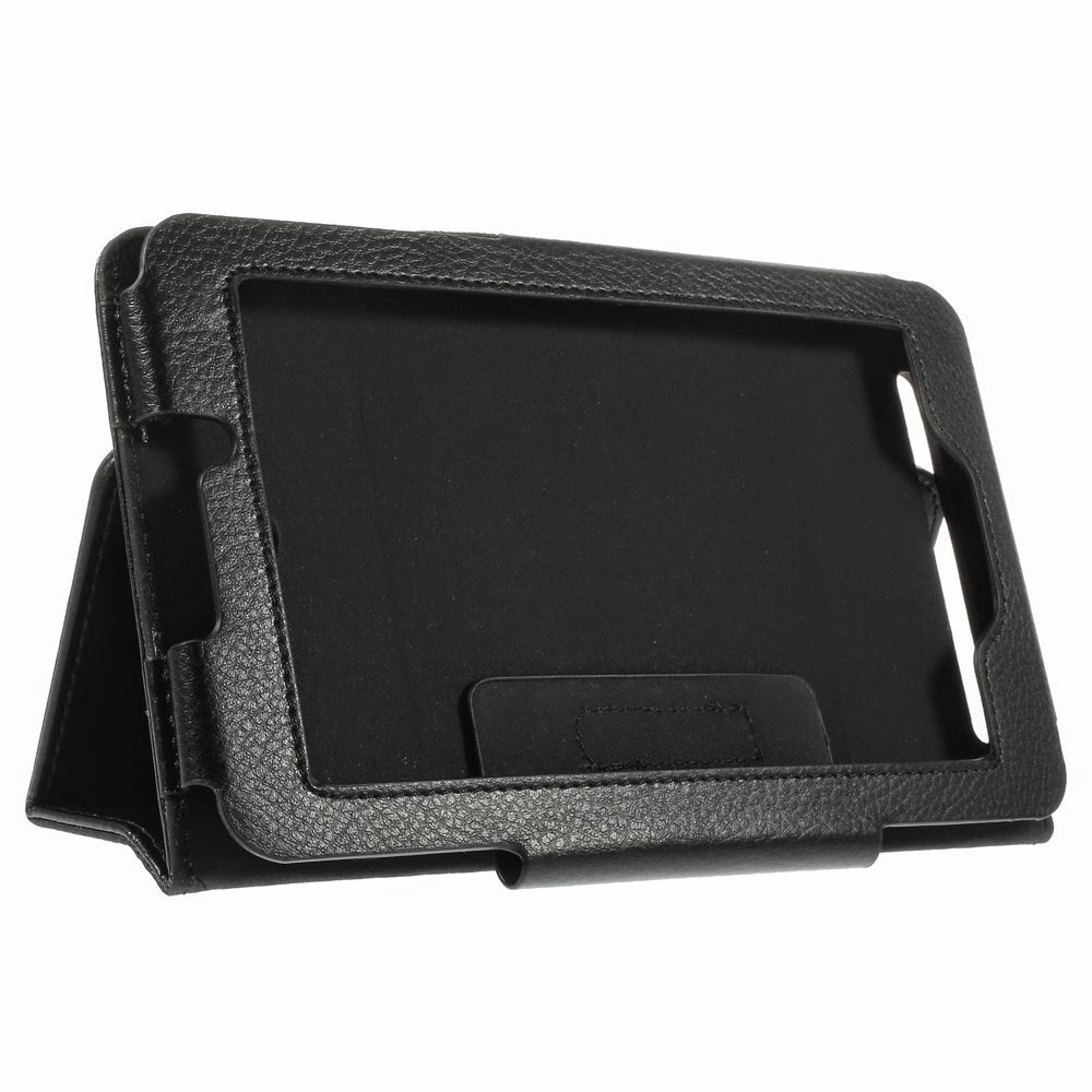 Leather-Case-Acer-Iconia-Tab-7-A1-713-Folio-Stand-Black