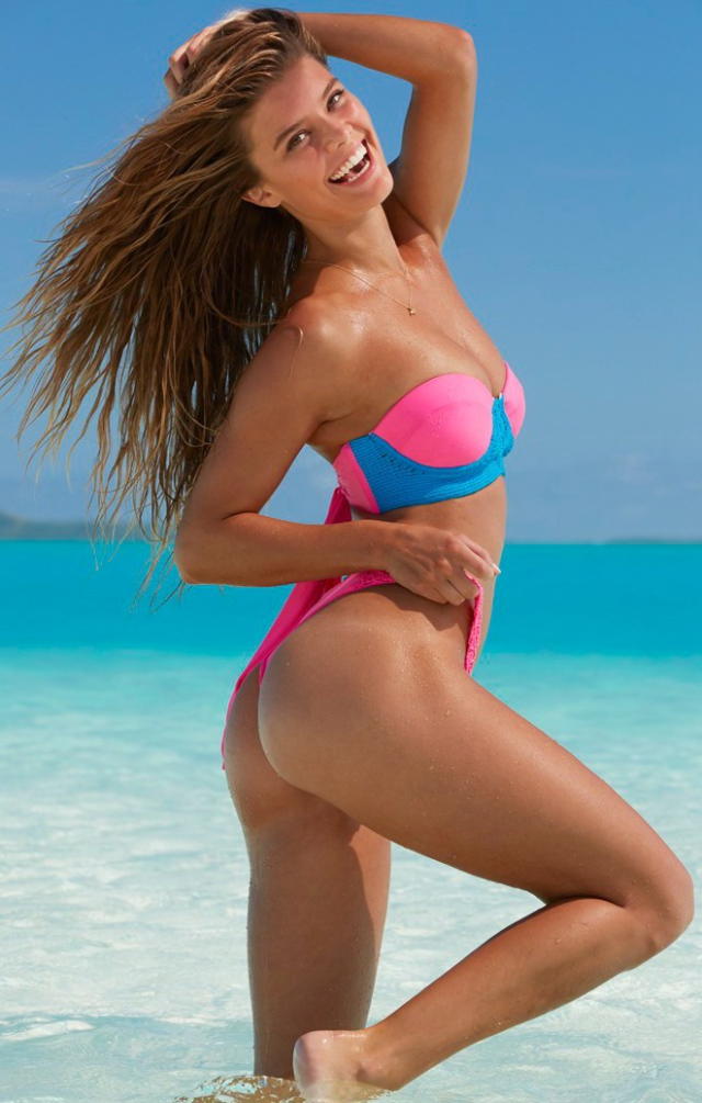 Nina Agdal en Sports Illustrated 2014