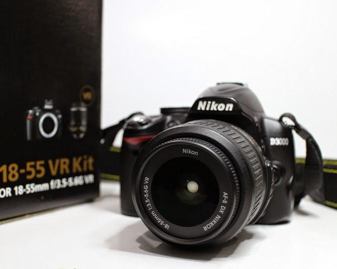 harga kamera dslr nikon d3000