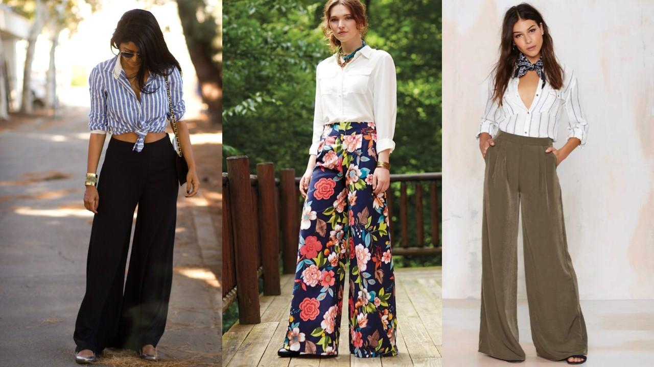 5 amazing and fun ways to style palazzo pants
