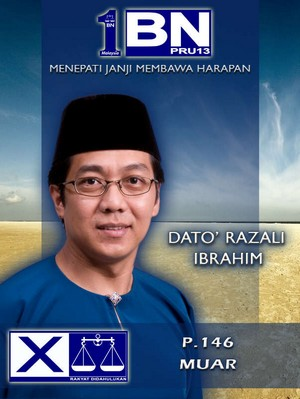 Razali Ibrahim For P146 Muar