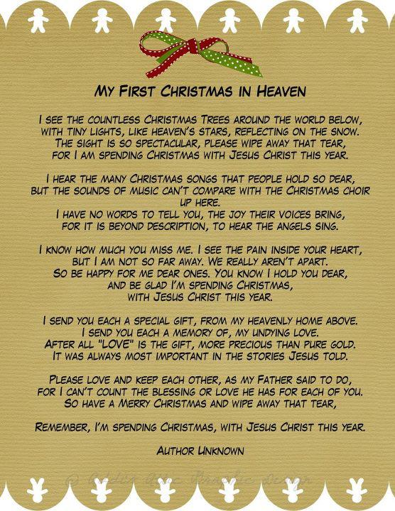 My first Christmas without my dad. Merry Christmas Daddy - I miss you ...