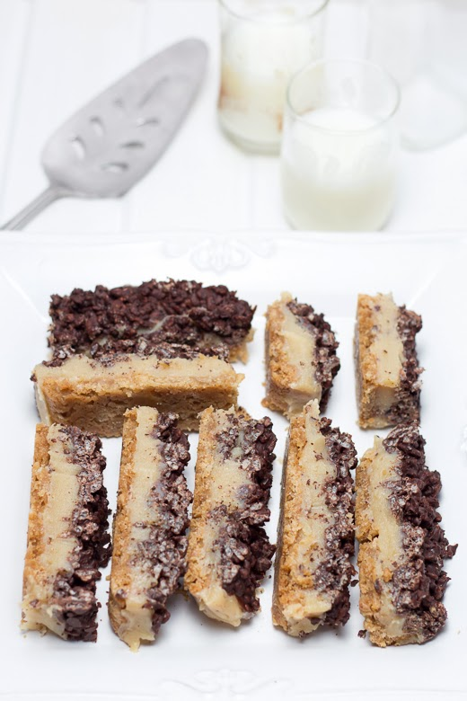 Toffee Crisp Squares Recipe