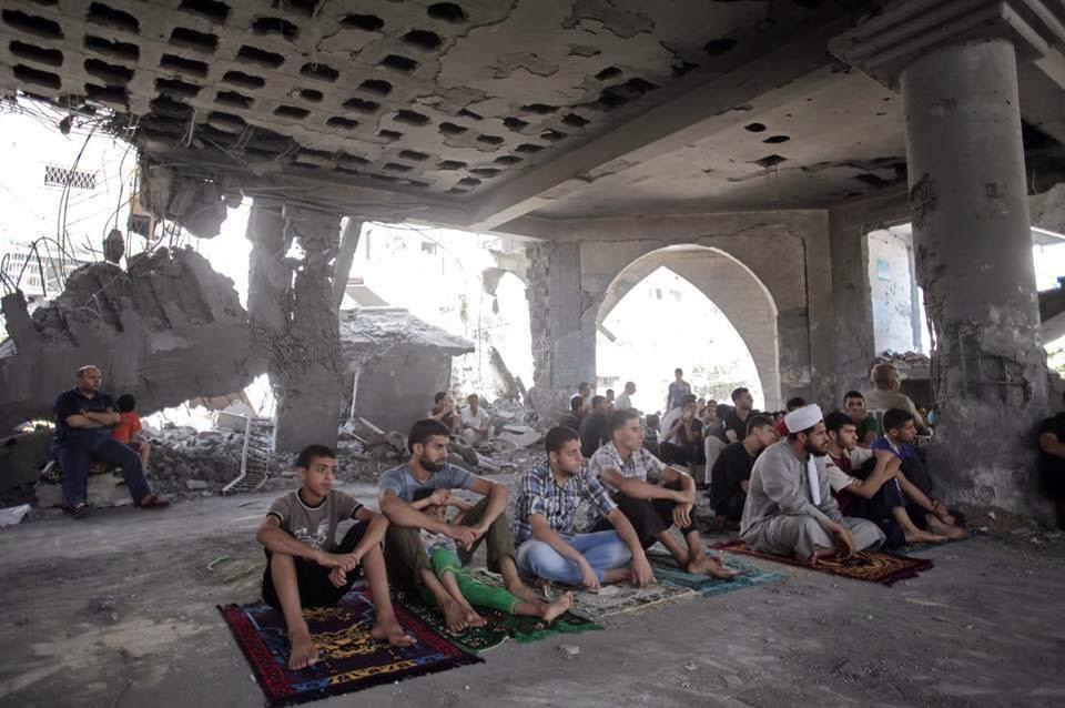 Yahudi Zionis Sengaja Mensasarkan Masjid-Masjid Utama Di Gaza.. Pengecut