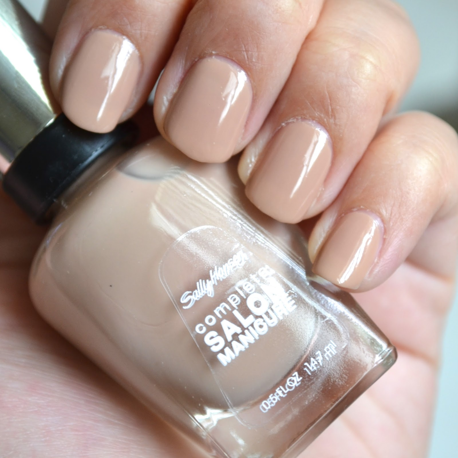 Aquaheart sally hansen complete salon manicure spring for Salon manicure