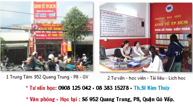 Đại học KInh Tế tpHCM - Cơ sở Gò Vấp 952 Quang Trung, P8, Gò Vấp.