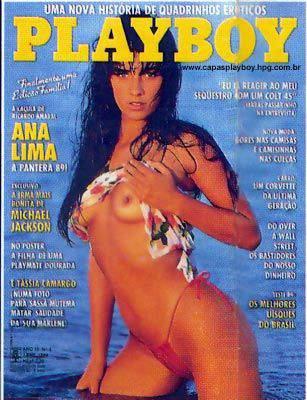 Ana Lima - Playboy 1989